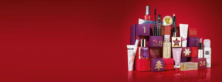 M&S ultimate beauty advent calendar