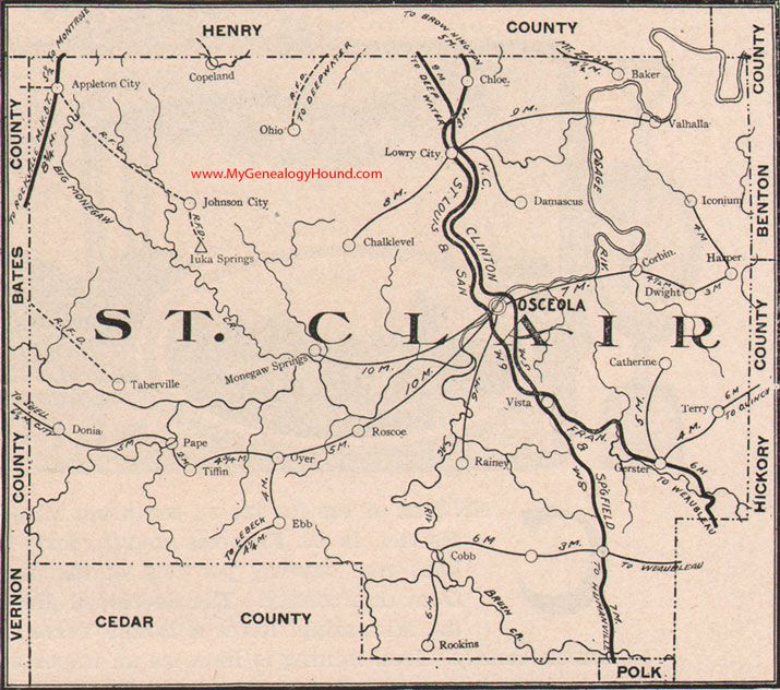 Best Vintage Missouri County Maps Images On Pinterest - Map mo