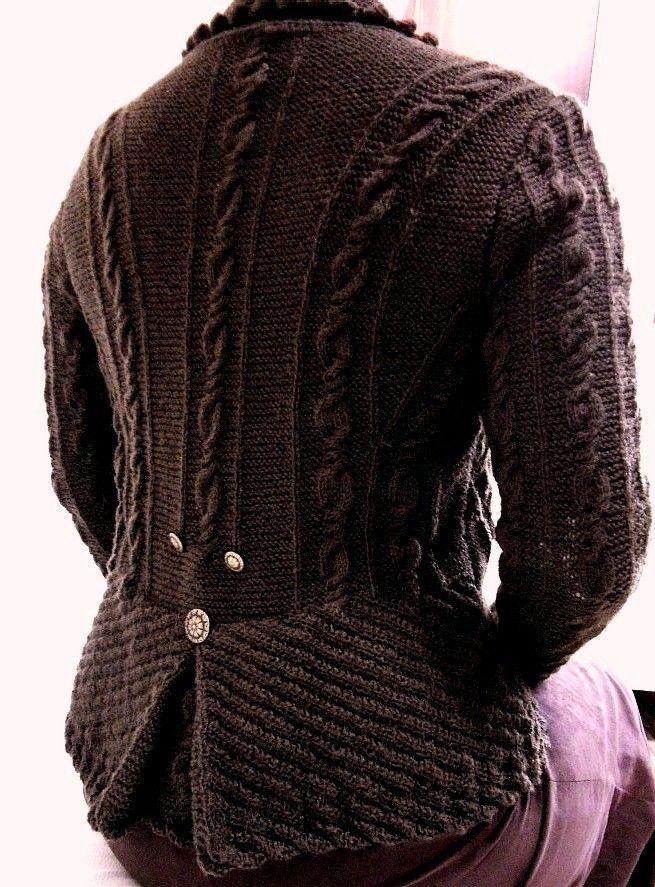 Dirndl, Trachtenjacke, Anleitung, pattern, Cardigan, handknit, selbstgestrickt, selbstgemacht, handmade, Strickjacke,