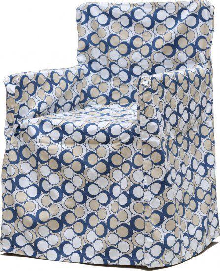 Neea Blue Chair Cover