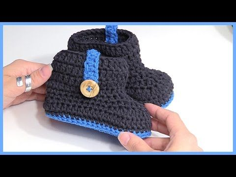 In this video, I demonstrate how to make two-toned booties. This is not an original pattern. I actually found these on Ravelry and HAD to make them! They are so cute! Share this video with your fri...