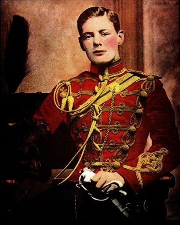 Winston Churchill   Community Post: 30 Famous Historical Figures When They Were Young