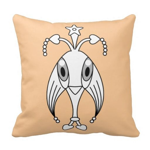 Kawaii / cute cartoon character ornamental/decorative throw pillows. Customize/personalize by adding your own text, change the background color and/or scale/position the design to your liking. (Note: The design is both in front and in back; if you don't like it on the back, you can remove it)