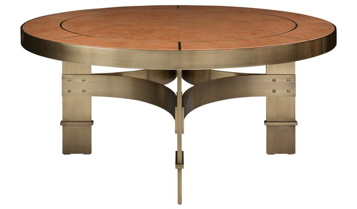 Buy CORSO COFFEE TABLE by Natasha Baradaran - Made-to-Order designer Furniture from Dering Hall's collection of Contemporary Industrial Transitional Coffee & Cocktail Tables.