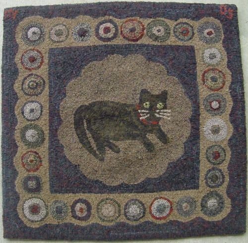 1000+ Images About Hooked Rugs ... Cat's Meow On Pinterest