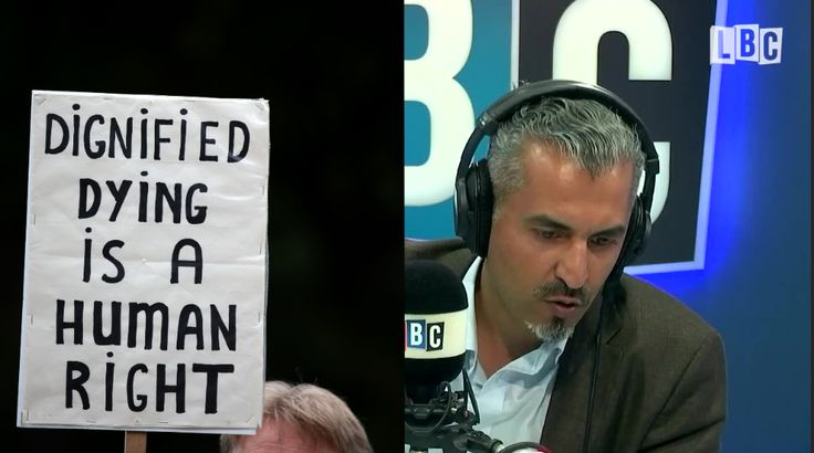 This Disabled Man's Take On Assisted Suicide Left... - Maajid Nawaz - Presenters - Radio - LBC