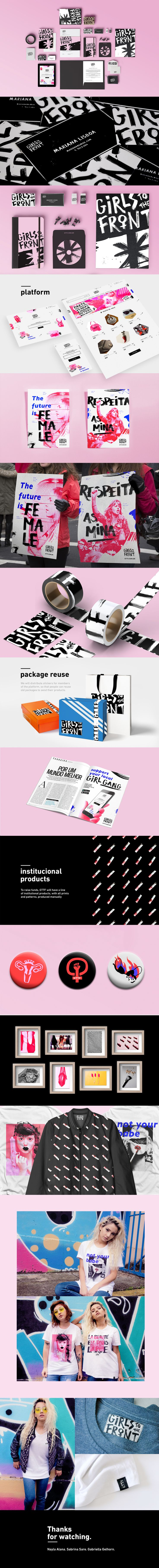 Integrated project, created for Miami ad School Brazil. Concept, branding, clothing design, photography, graphic design, UI and typography.