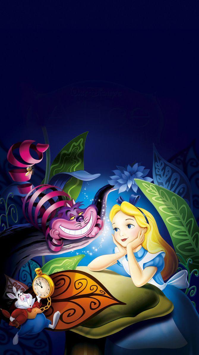 Alice In Wonderland 1951 Phone Wallpaper Alice In Wonderland Artwork Alice In Wonderland Pictures Disney Alice