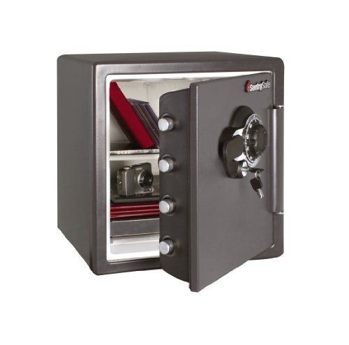 SentrySafe Cubic Feet Combination Fire-Safe, Medium Grey The SentrySafe  Combination Fire Safe with the Big Bolts Combination Lock is