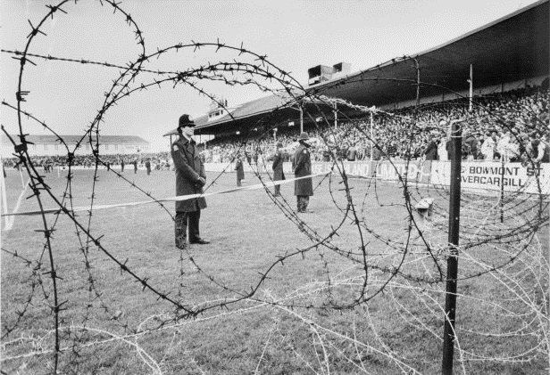 (1981 Tour to NZ) Barbed wire had to be placed around a number of rugby fields to protect the players. But despite these actions, 2 matches were cancelled after major protest riots.  Before 1981, South Africa had always insisted that New Zealand send only white players to play in their country. Some of New Zealands's top rugby players have been men of colour. The below link gives some details of the tour from a South African players POV.