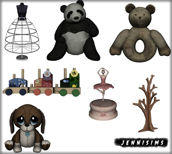 Kids'Home Decor (7 Items) DOWNLOAD | Sims 4 infantes, Sims ...