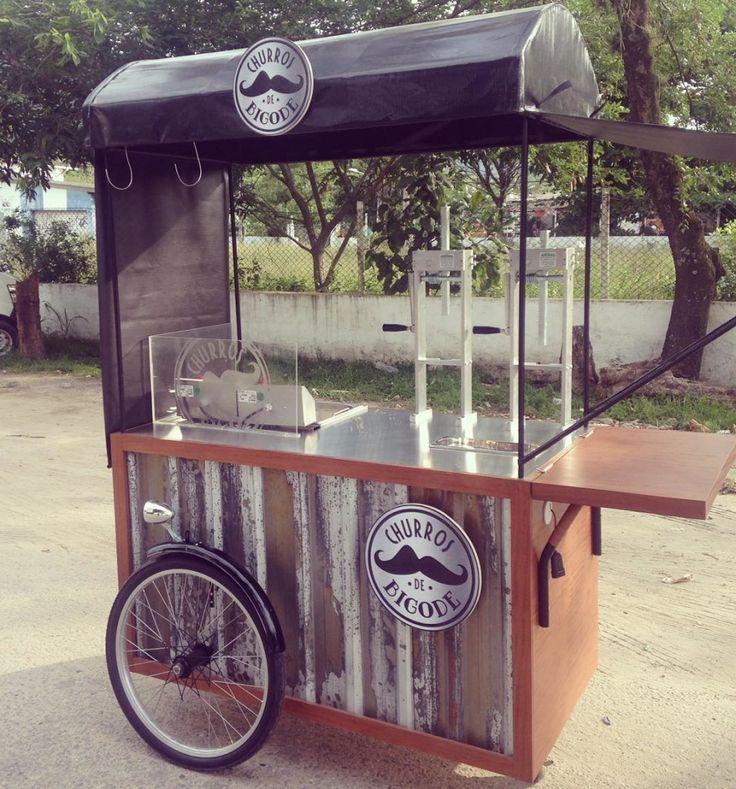 O carrinho de churros mais charmoso do Brasil  churrosdebigodehellip