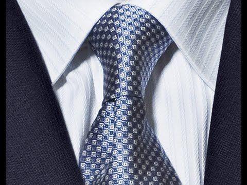 Como hacer el nudo de corbata | how to make tie knot - YouTube