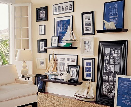 Picture Frame Arrangement Luxury Homes House Frames
