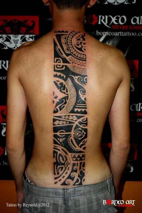 - Borneo Tattoos Design by Blind Nobility - blindnobility2014@gmail.com