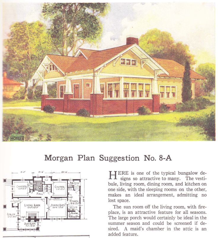 17 best images about historic craftsman bungalow on for Historic bungalow house plans