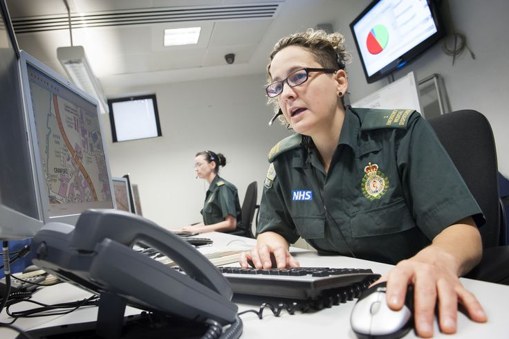 London Ambulance Service Control Room Call Handler London Ambulance Service Pinterest