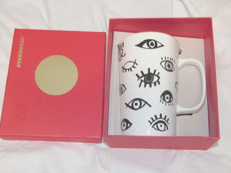 No 11041022 starbucks coffee mug eyes wide open awake