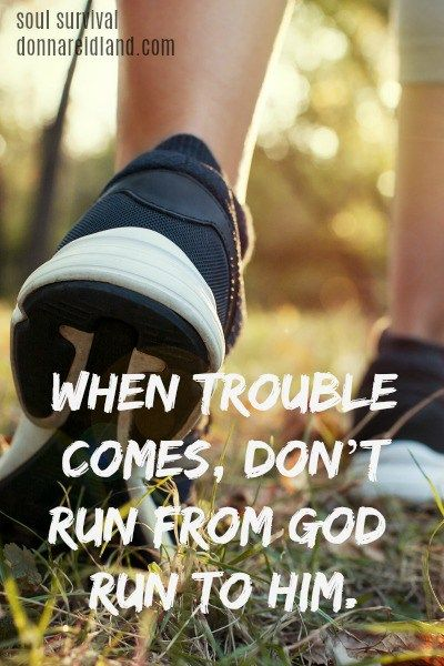 """""""Running to God When We Want to Run Away"""" (8.6) Life, including pain and heartache, happens to us all, but if we don't know the essential character of God, we will be tempted to blame Him and run away, instead of running to God when we need Him the most. Also, read about """"the rod of correction"""" when it comes to parenting and one of the most freeing verses in the Bible."""