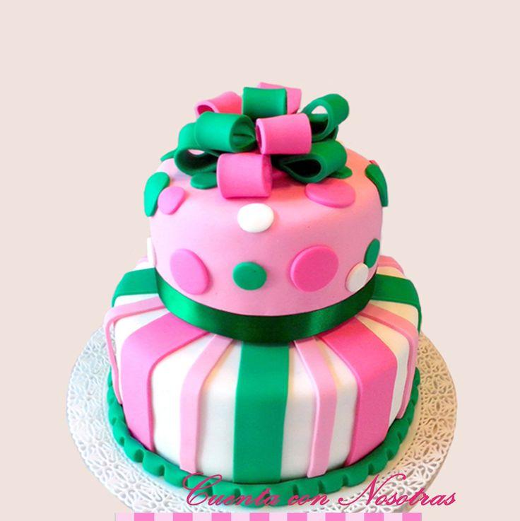 Torta regalo, Torta adolescentes, Tortas, Cuenta con Nosotras