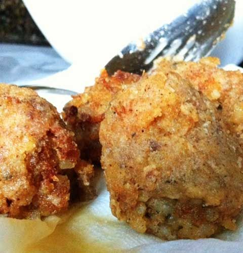 Recipe for Louisiana Boudin Balls - It's one of the most delicious things we…
