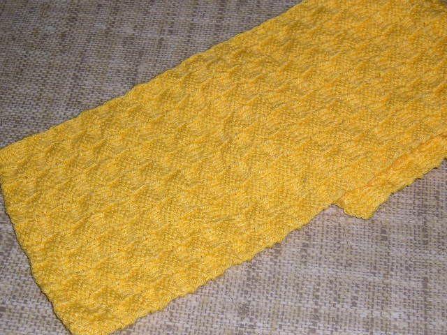 Jak zrobić szalik na drutach
