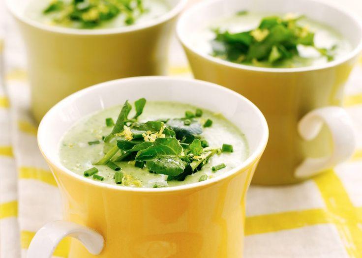 Vichyssoise (sopa fria de alho poró) | Chef | Pinterest