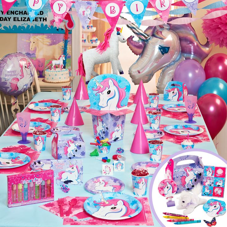 enchanted unicorn | Enchanted Unicorn Party Packs, 64550