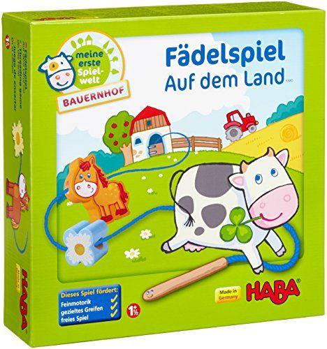 Haba 5580 - Meine erste Spielwelt Bauernhof - Fädelspiel auf dem Land Haba http://www.amazon.de/dp/B005HAW5JM/ref=cm_sw_r_pi_dp_ceOevb151PC9V