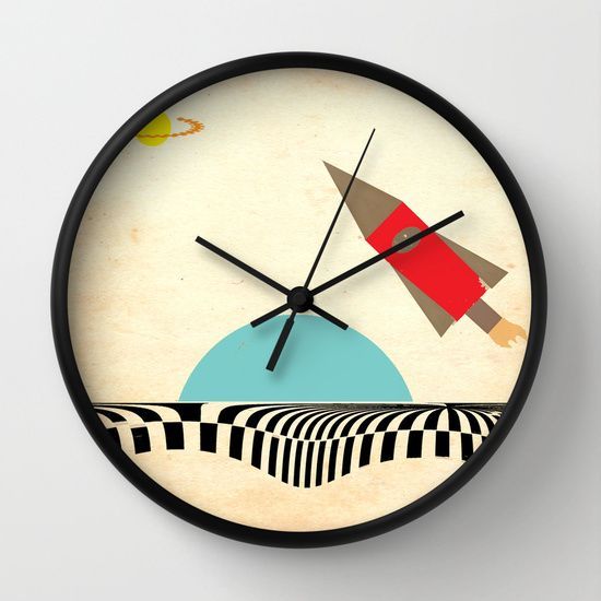 For the 'space-lover', a stunning clock, only $24 at the moment! https://society6.com/product/visiting-outer-spaceversion-2_wall-clock?curator=bestreeartdesigns