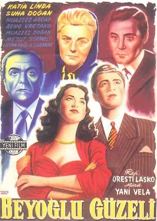 Türk Nostalji - Fotogaleri - Beyoğlu Güzeli (1953) filminin afişi