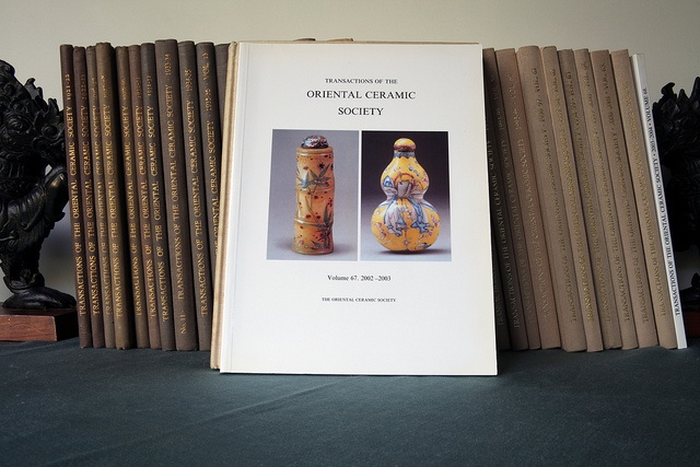 Transactions of the Oriental Ceramic Society 2002-2003, Volume 67_1 by MoonToad NL, via Flickr