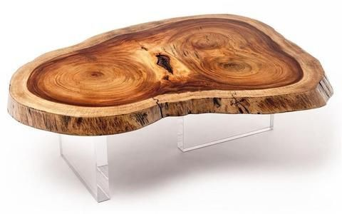 JABIN EXOTIC WOOD COFFEE TABLE Made from Salvaged Trees, our furniture is made using trees felled from the neighborhoods region of Yucatan, Mexico due to hazard or declining health.