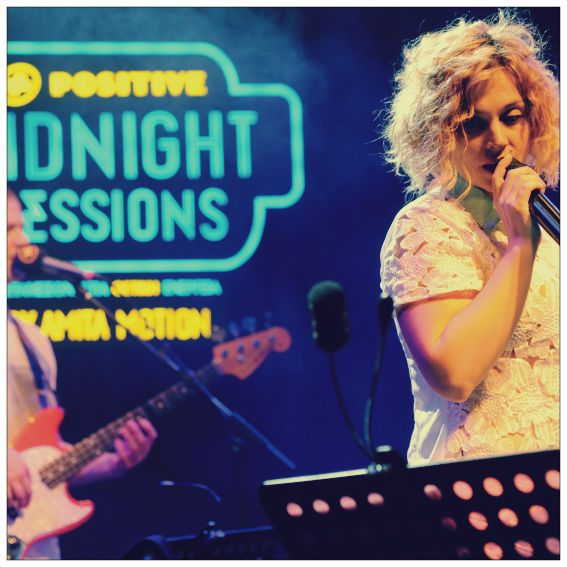 Eleonora Zouganeli live @ 2nd Positive Midnight Session @ Thessaloniki! #AmitaMotion #MidnightSessions