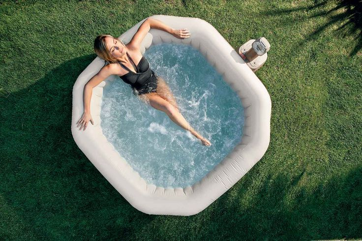 Spa octogoale Pure Spa Intex - Sur Jardideco.fr