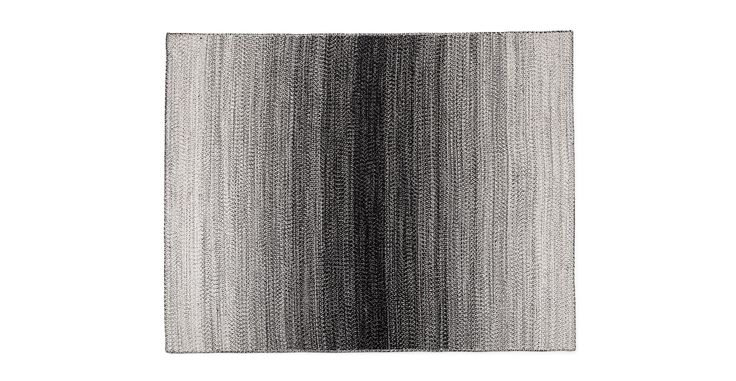 Stria Outdoor Black / White Rug 8 x 10 - 8 x 10 Rugs - Article | Modern, Mid-Century and Scandinavian Furniture