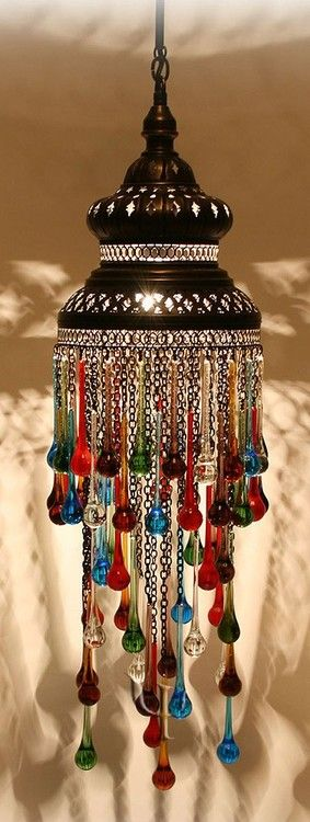 Droplets of colored glass.. #soulbounddesigns #bizarrebazaar #peacock #gypsy #moroccan #jewelry #etsy #handmade