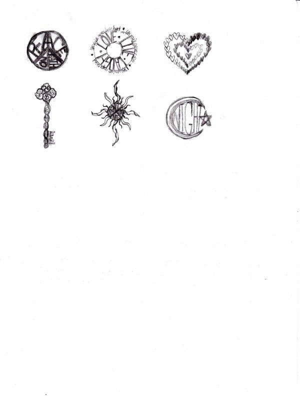 small tattoo ideas, i like the sun one