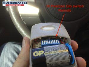 Universal Dip Switch Garage Door Remote
