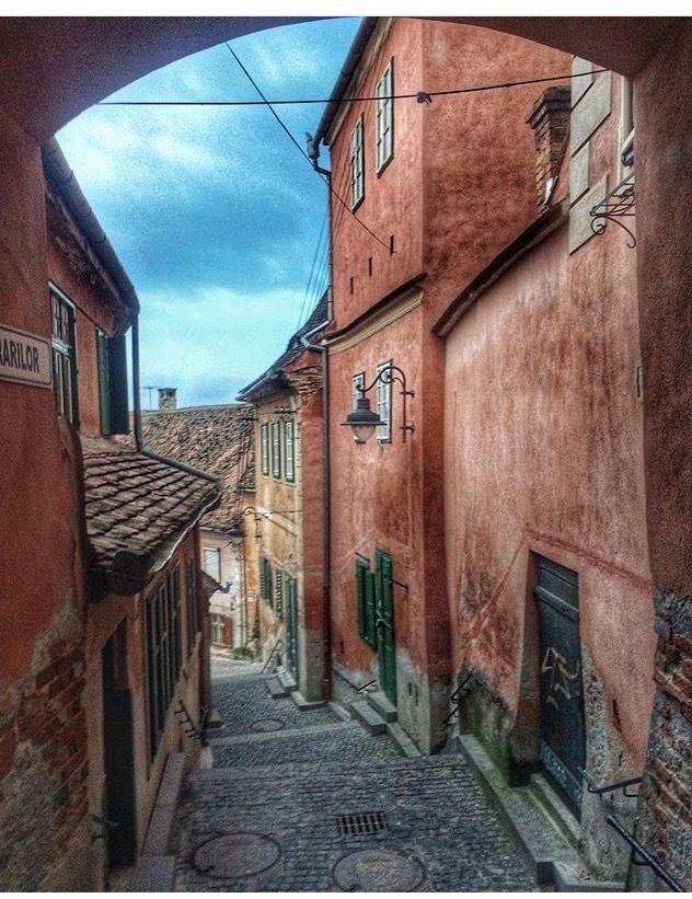 Street of Sibiu