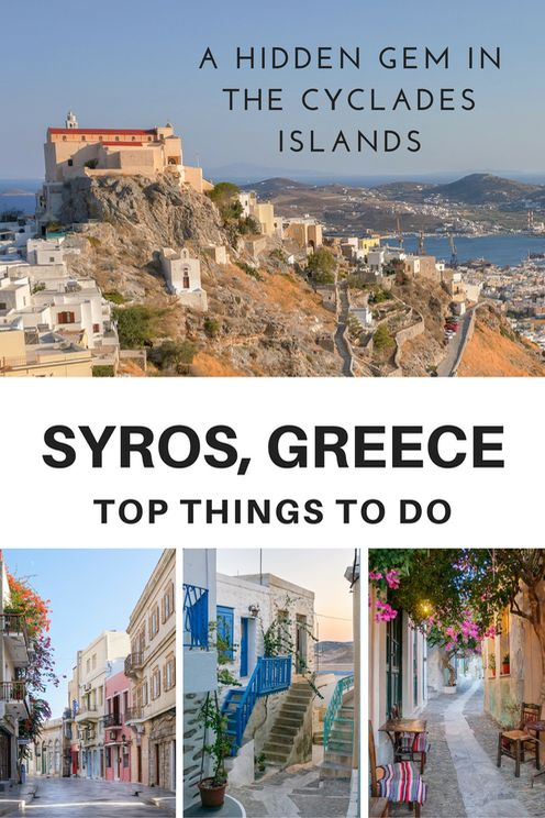 During my journey through the #Cyclades capital I discovered the essence of Greek island life. Read the top things to do in #Syros, a gem waiting to be found. #Greece