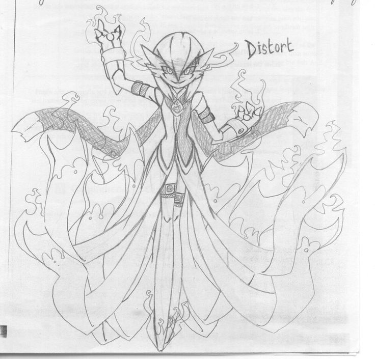 Distort Gallant Male Gardevoir by CrissyG