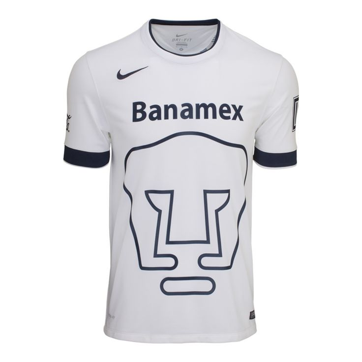 - Brand NEW WITH TAGS - Replica Pumas UNAM Jersey 2016 A replica version of an official team jersey just often has a looser cut creating a more comfortable fit for fans. A replica jersey may also have different technologies, contraction and materials to keep costs lower for fans who don't the elite performance benefits that the professionals demand. - Size available S, M, L, XL Size Chart in cm: S: (Length68 x Width48) M: (Length72 x Width52) L: (Length 73 x Width 55) XL: (Length 75 x Width…