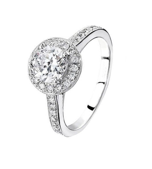 Solitario de diamantes modelo REALEZA