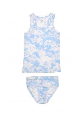 Organic Tank & Underwear Set : Fawn Shoppe - Global Boutique For Unique Children's Designs