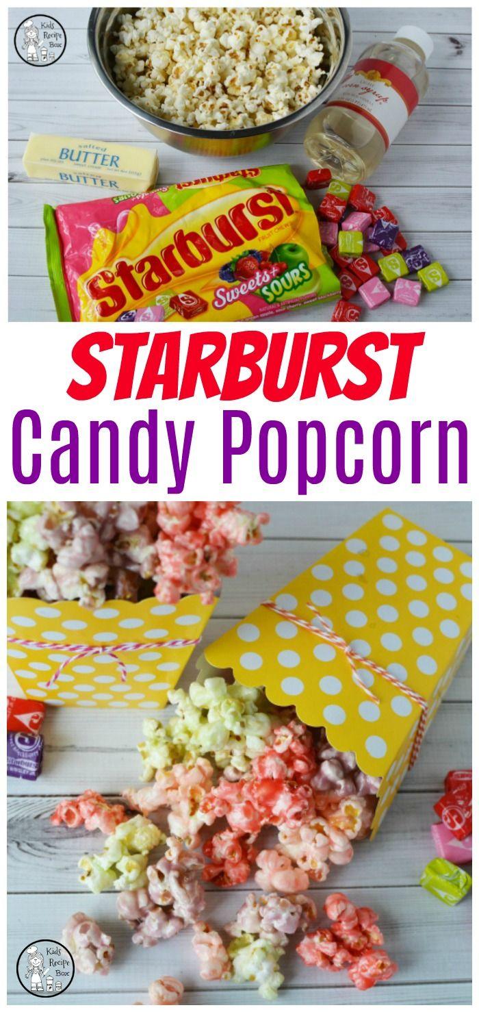 Starburst Candy Popcorn Recipe