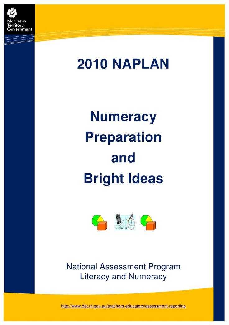 naplan-numeracy-prepbrightideas by G.j. Darma via Slideshare