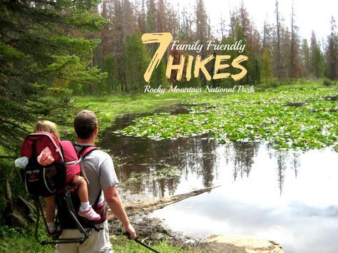 With more 355 miles of hiking trails there are a ton of options for hikes in Rocky Mountain National Park. Click through to see a list of seven family friendly hikes in Rocky Mountain National Park. #colorado #travel #familytravel http://carpe-travel.com/hikes-in-rocky-mountain-national-park/