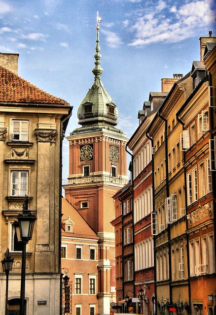 Warsaw, Poland [Old Town] Home away from home, the only destination spot I've been to over five times