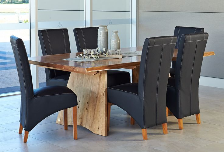 Dining Sets : Forrester 7 Pce Dining Suite With Forrester Chairs Perth, Western Australia - Furniture Bazaar